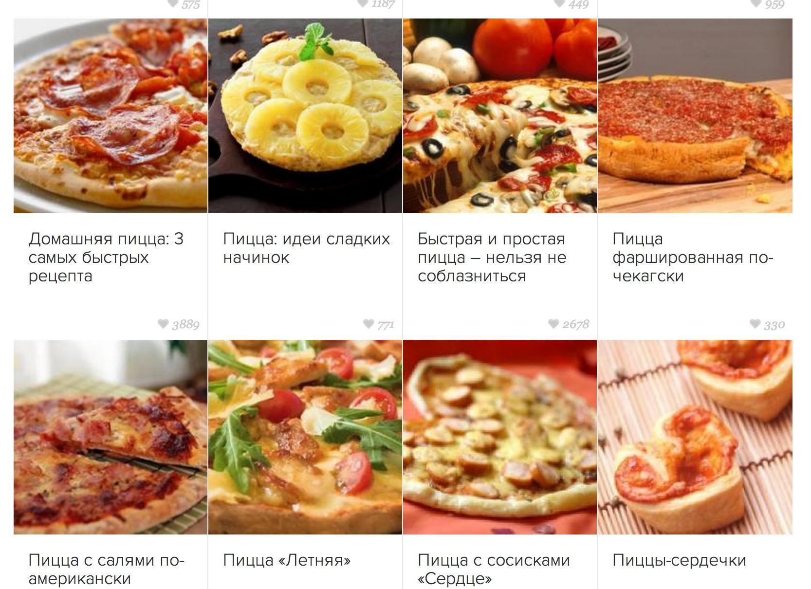 Начинка для пиццы в домашних условиях рецепты