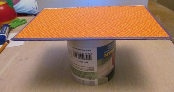 Делаем мебель для кукол  из картона 184