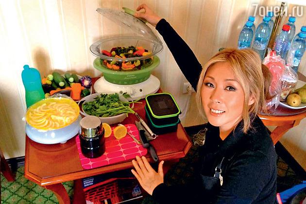 Как похудела анита цой ее диета отзывы