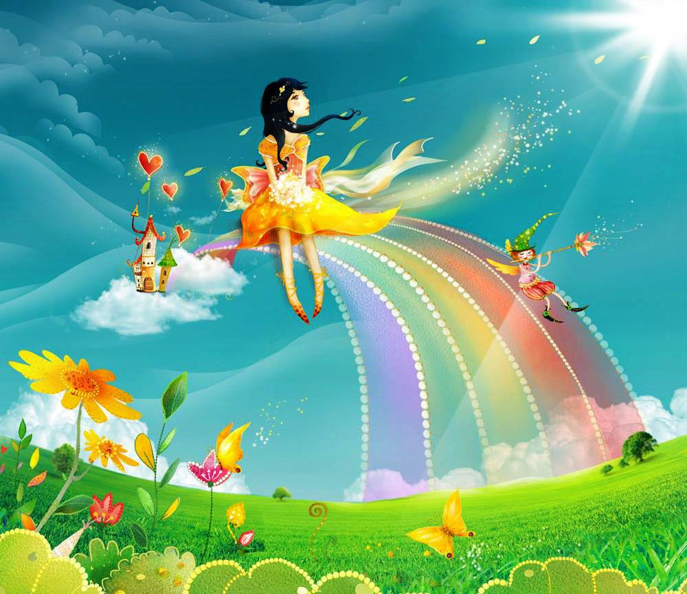 картинка фея с днем рождения синалган